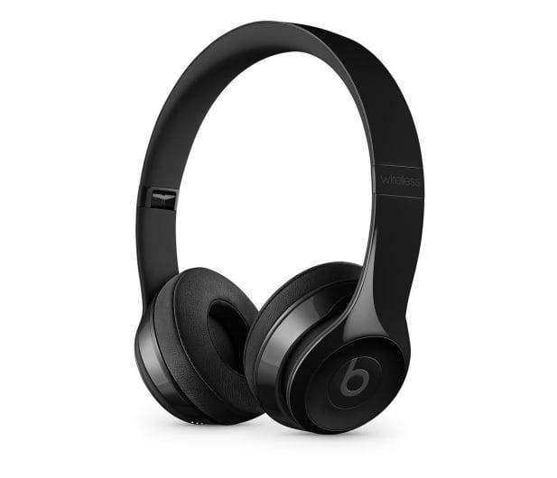Apple Solo3 Wireless On-Ear błyszczące czarne  - 446930 - zdjęcie