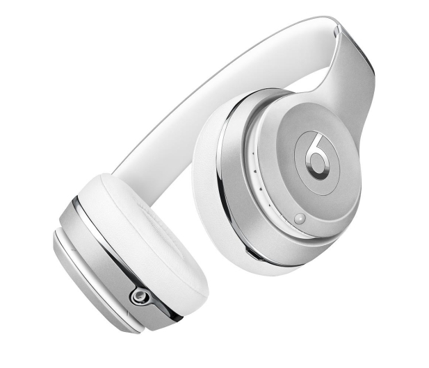 Apple Beats Solo3 Wireless On-Ear srebrne - 446941 - zdjęcie 6