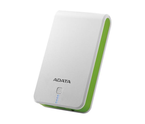 ADATA Power Bank P16750 16750 mAh 2.1A(biało-zielony) - 447424 - zdjęcie
