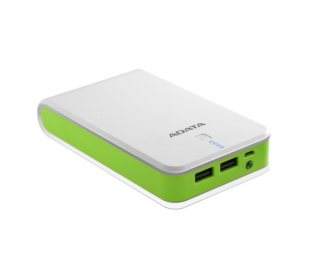 ADATA Power Bank P16750 16750 mAh 2.1A(biało-zielony) - 447424 - zdjęcie 3