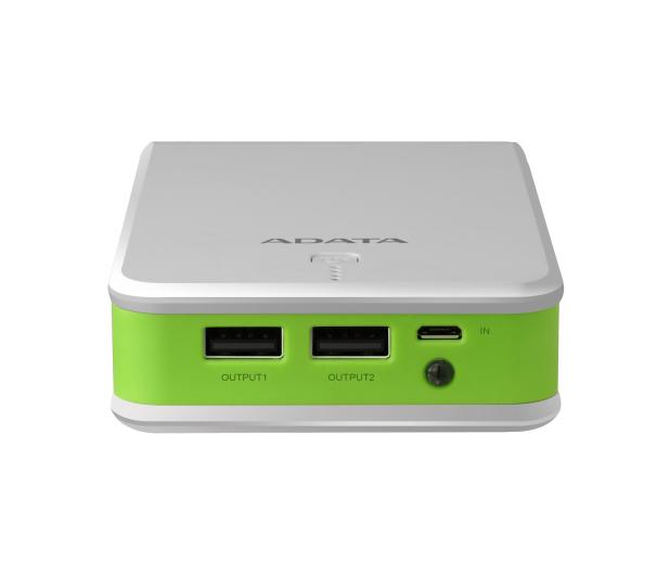 ADATA Power Bank P16750 16750 mAh 2.1A(biało-zielony) - 447424 - zdjęcie 4