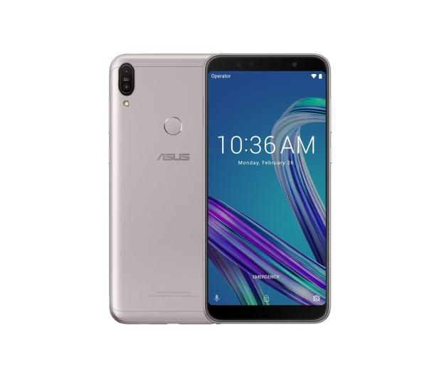 ASUS ZenFone Max Pro M1 ZB602KL 4/64GB Dual SIM srebrny - 447422 - zdjęcie
