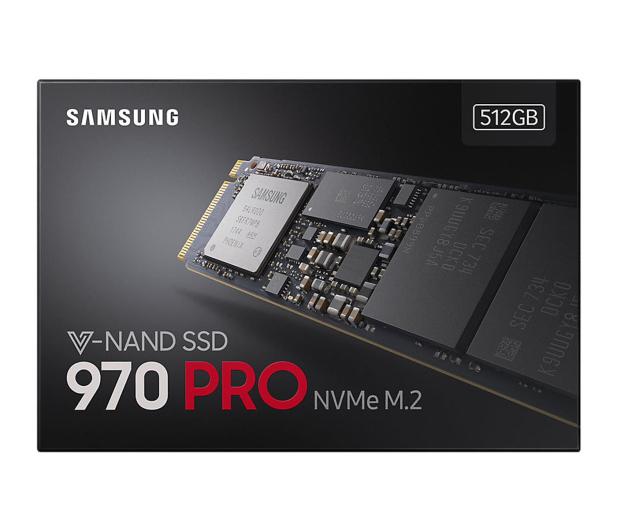 Samsung 512GB 970 PRO  PCIe x4 NVMe  - 442512 - zdjęcie 5