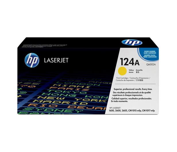 HP 124A Q6002A yellow 2000str. - 8894 - zdjęcie