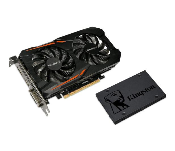 Gigabyte GeForce GTX 1050 TI OC 4GB + Kingston 120GB A400  - 443221 - zdjęcie