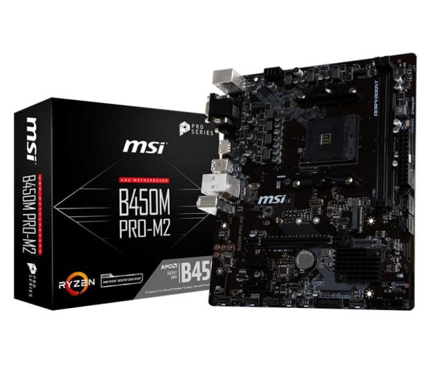 MSI B450M PRO-M2 - 443367 - zdjęcie