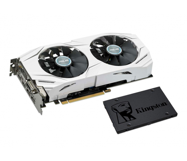 ASUS GeForce GTX 1060 Dual OC 6GB + Kingston 240GB A400 - 443183 - zdjęcie