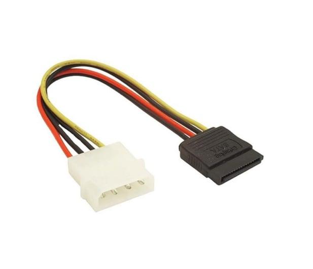 Gembird Przejściówka Molex - SATA (zasilanie SATA HDD/ODD) - 64475 - zdjęcie