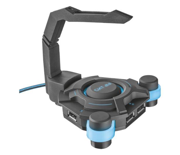 Trust GXT 213 USB Hub & Mouse Bungee  - 447980 - zdjęcie