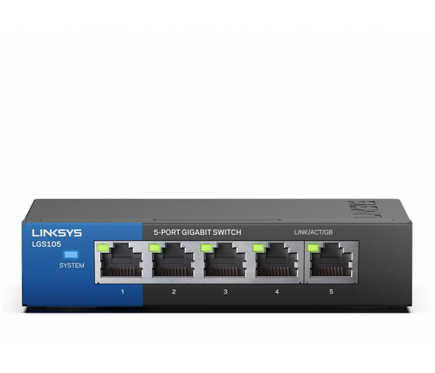 Linksys 5p LGS105-EU (5x10/100/1000Mbit) - 296323 - zdjęcie