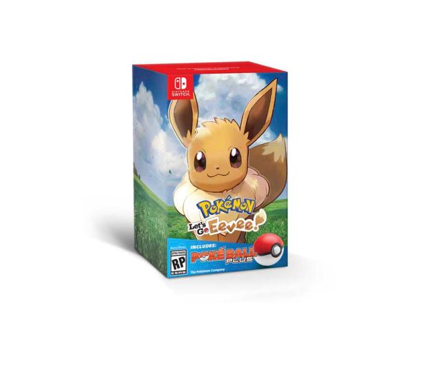 Nintendo Pokémon Let's Go Eevee! + Poké Ball Plus - 447385 - zdjęcie