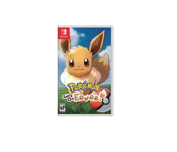 Nintendo Pokémon Let's Go Eevee! + Poké Ball Plus - 447385 - zdjęcie 2