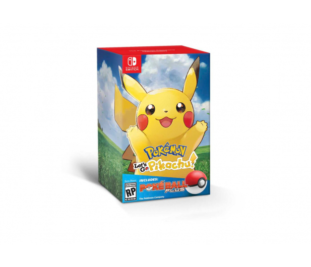 Nintendo Pokémon Let S Go Pikachu Poké Ball Plus Gry Na Switch