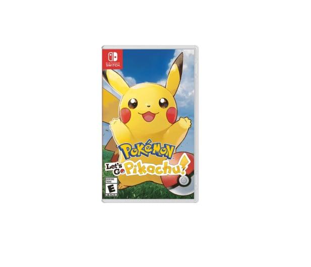 Switch Pokémon Let's Go Pikachu! - 447383 - zdjęcie
