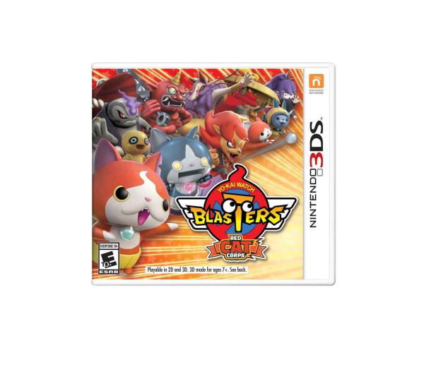 Nintendo YO-KAI WATCH Blasters Red Cat - 447372 - zdjęcie
