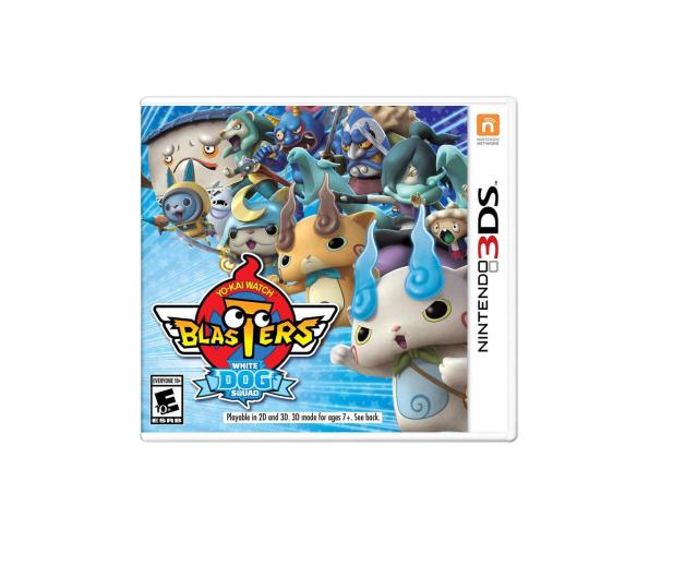 Nintendo YO-KAI WATCH Blasters White Dog - 447373 - zdjęcie