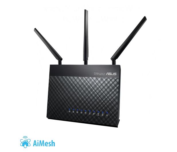 ASUS DSL-AC68U (1900Mb/s a/b/g/n/ac Aneks A/B, USB 3.0) - 211103 - zdjęcie