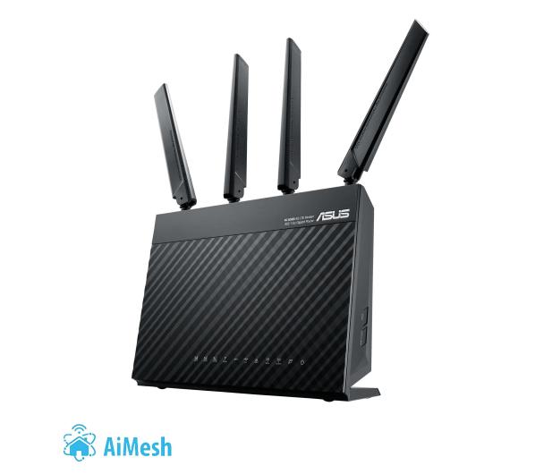 ASUS 4G-AC68U (1900Mbps a/b/g/n/ac (LTE) 4xLAN  - 381358 - zdjęcie