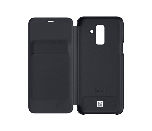 Samsung Wallet Cover do Samsung Galaxy A6+ czarny - 431299 - zdjęcie