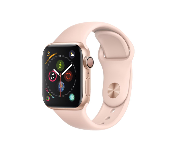 Apple Watch 4 40/Gold Aluminium/Pink Sport GPS  - 448660 - zdjęcie
