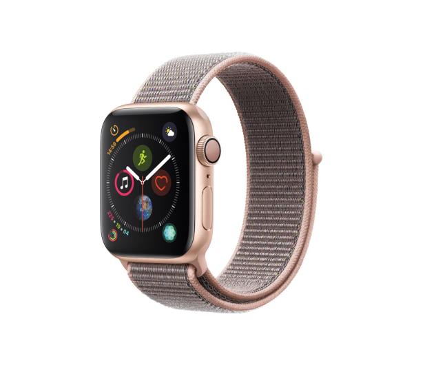 Apple Watch 4 40/Gold Aluminium/Pink Sport Lo GPS  - 449524 - zdjęcie