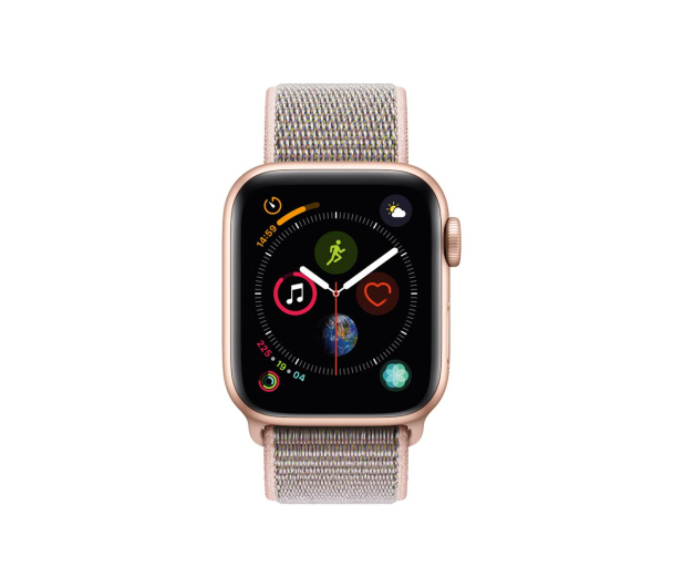 Apple Watch 4 40/Gold Aluminium/Pink Sport Loop LTE - 491812 - zdjęcie 2