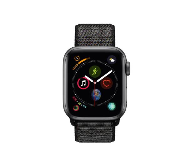 Apple Watch 4 40/Space Gray/Black Sport Lo GPS  - 449525 - zdjęcie 2
