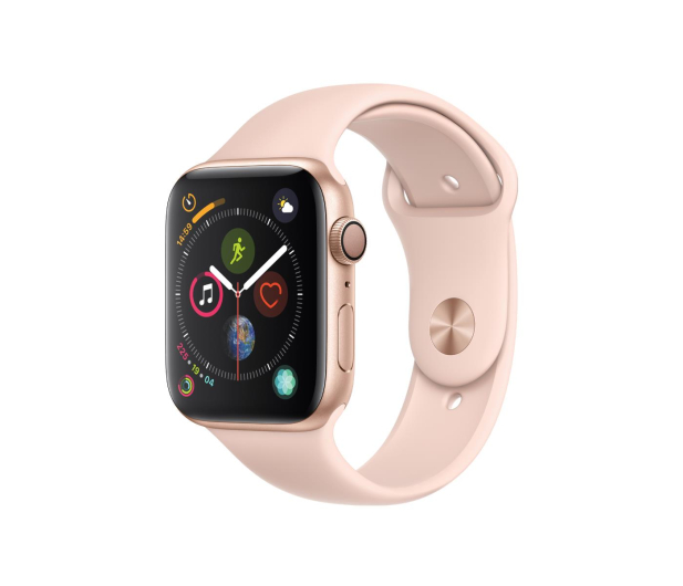 Apple Watch 4 44/Gold Aluminium/Pink Sport GPS  - 448664 - zdjęcie 1