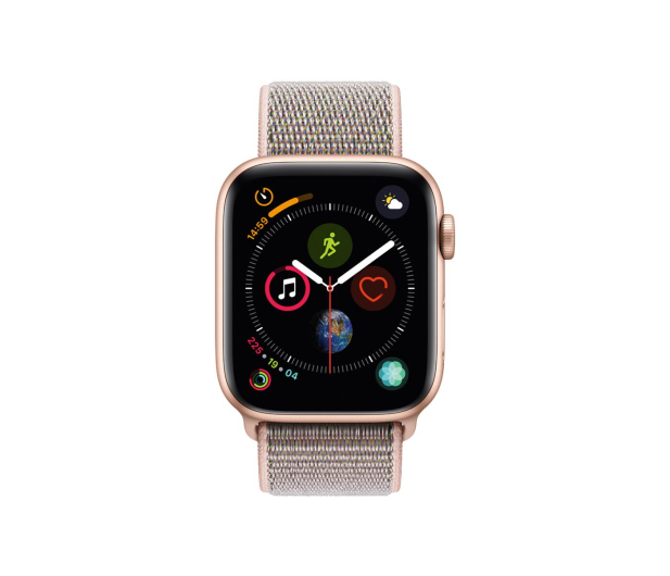 Apple Watch 4 44/Gold Aluminium/Pink Sport Loop LTE - 491834 - zdjęcie 2