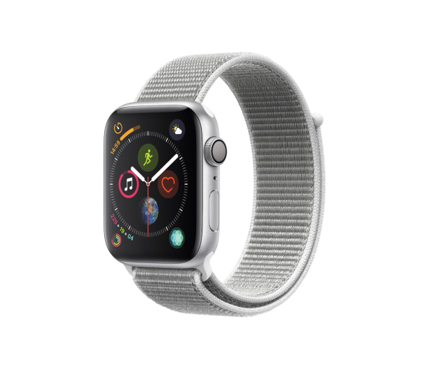 Apple Watch 4 44/Silver Aluminium/Seashell GPS  - 448667 - zdjęcie