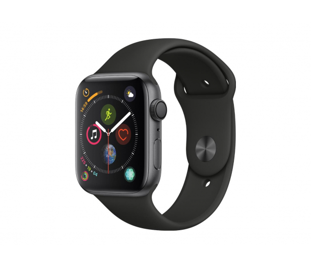Apple Watch 4 44/Space Gray/Black Sport GPS  - 449523 - zdjęcie