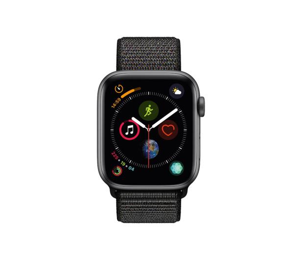 Apple Watch 4 44/SpaceGray Aluminium/BlackSport Loop LTE - 491838 - zdjęcie 2