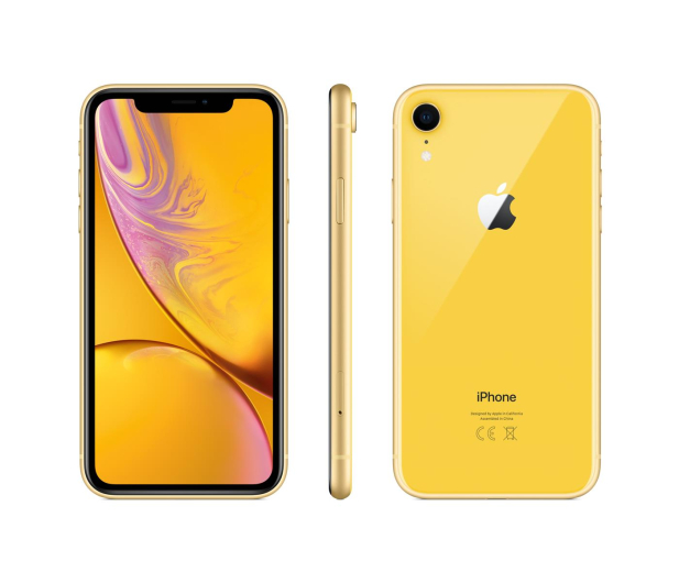Apple iPhone Xr 256GB Yellow - 448361 - zdjęcie