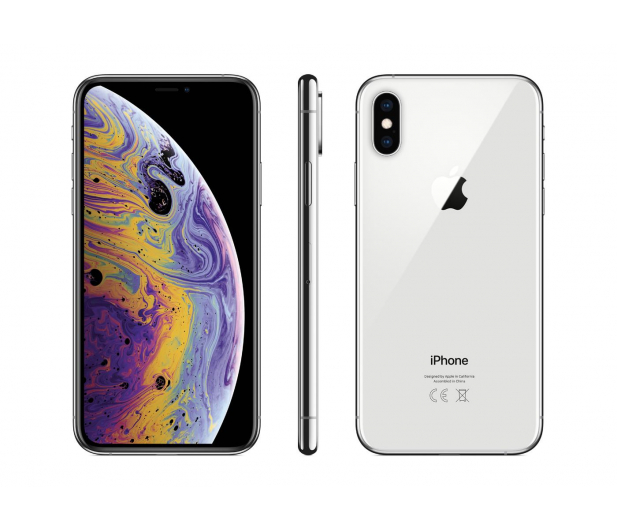 Apple iPhone Xs  256GB Silver  - 448429 - zdjęcie