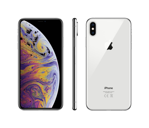 Apple iPhone Xs Max 512GB Silver  - 448441 - zdjęcie