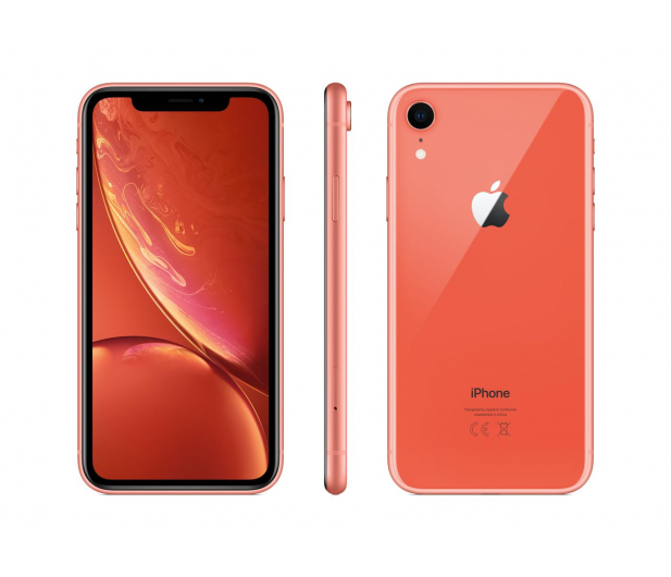 Apple iPhone Xr 64GB Coral - 449084 - zdjęcie