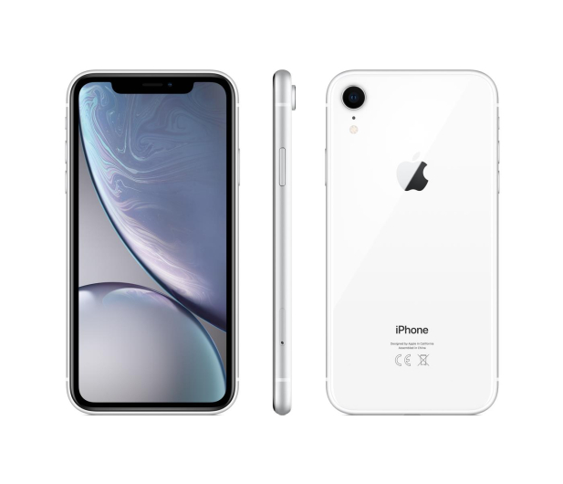 Apple iPhone Xr 128GB White - 448399 - zdjęcie
