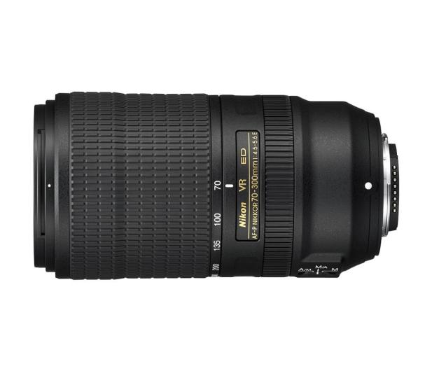 Nikon Nikkor AF-P 70-300mm f/4.5-5.6E ED VR - 449271 - zdjęcie 2