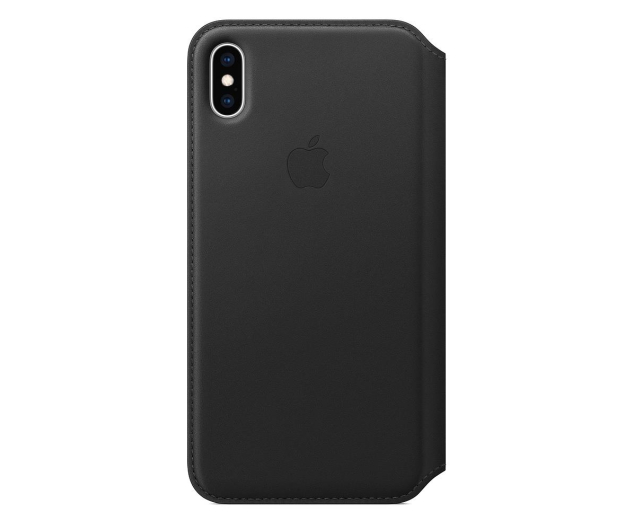 Apple iPhone XS Max Leather Folio Black - 449572 - zdjęcie 3