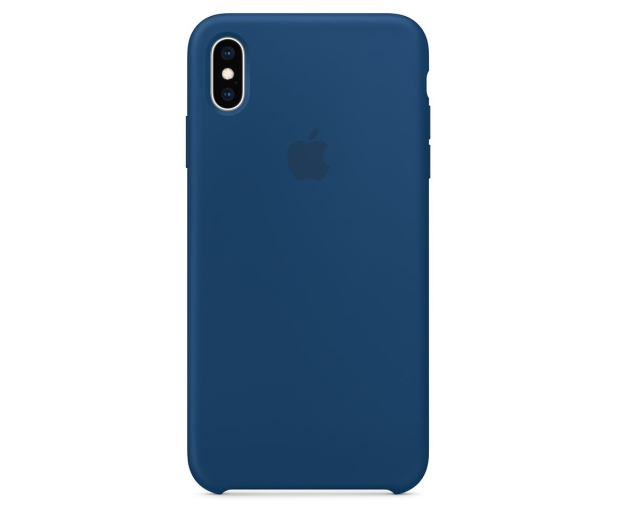 Apple iPhone XS Max Silicone Case Blue Horizon - 449601 - zdjęcie 3