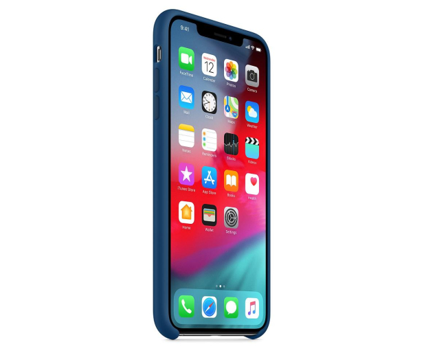 Apple iPhone XS Max Silicone Case Blue Horizon - 449601 - zdjęcie 2