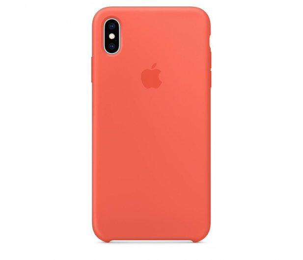 Apple iPhone XS Max Silicone Case Nectarine - 449602 - zdjęcie 3