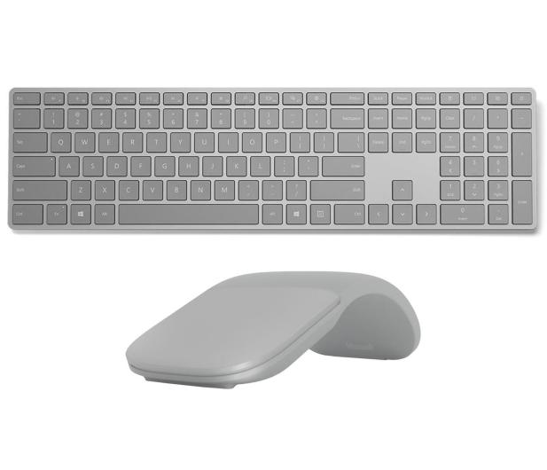 Microsoft Surface Keyboard + Surface Arc Mouse Bluetooth - 450404 - zdjęcie