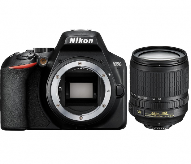 Nikon D3500 + 18-105 VR  - 447710 - zdjęcie