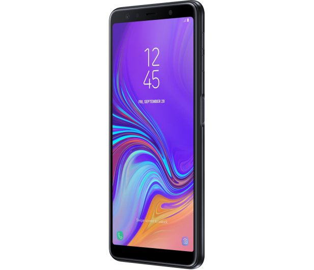 Samsung Galaxy A7 A750F 2018 4/64GB LTE FHD+ Czarny - 451429 - zdjęcie 2