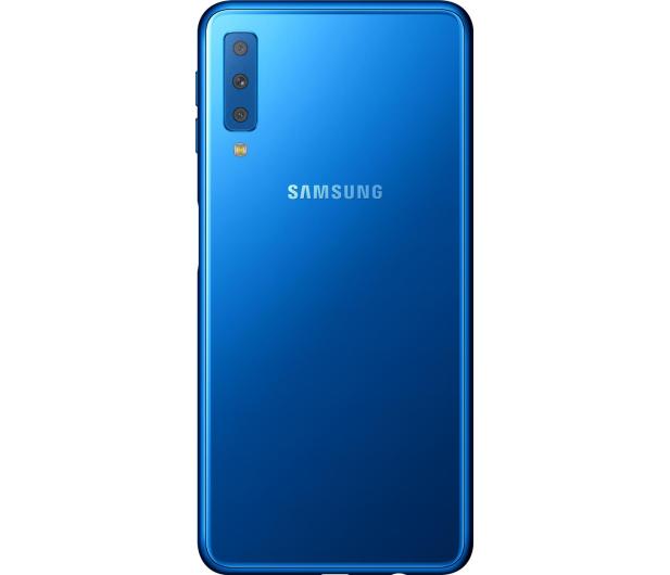 Samsung Galaxy A7 A750F 2018 4/64GB LTE FHD+ Niebieski  - 451430 - zdjęcie 5