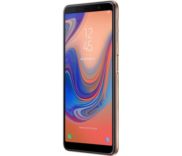Samsung Galaxy A7 A750F 2018 4/64GB LTE FHD+ Złoty - 451431 - zdjęcie 2