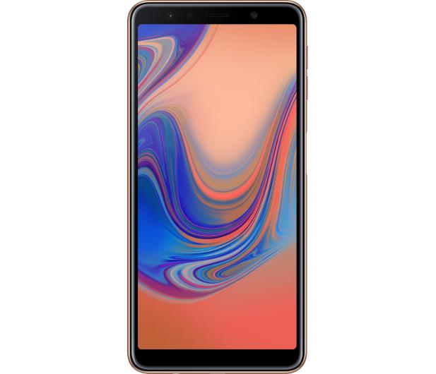 Samsung Galaxy A7 A750F 2018 4/64GB LTE FHD+ Złoty - 451431 - zdjęcie 3