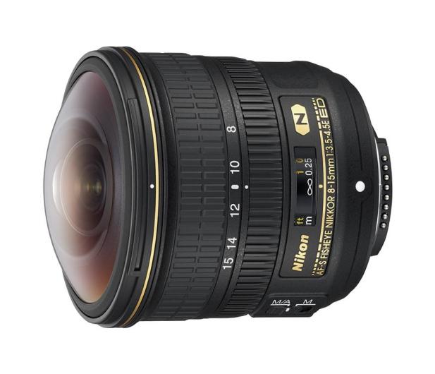 Nikon Nikkor Fish-Eye AF-S 8-15mm f/3.5-4.5E ED - 449270 - zdjęcie