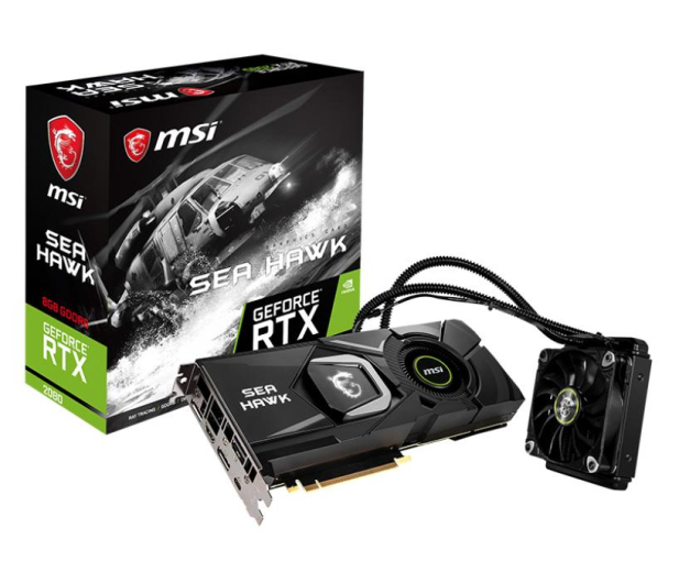 MSI GeForce RTX 2080 SEA HAWK X 8GB GDDR6 - 451959 - zdjęcie